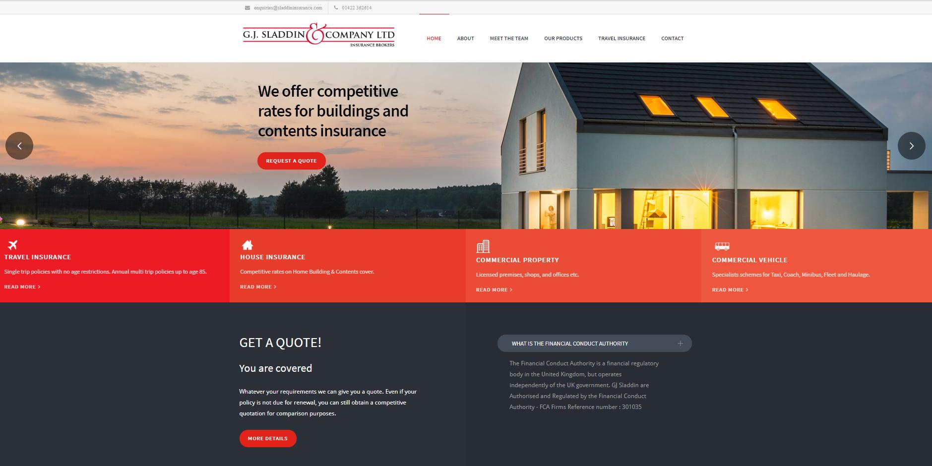 Sladdin website